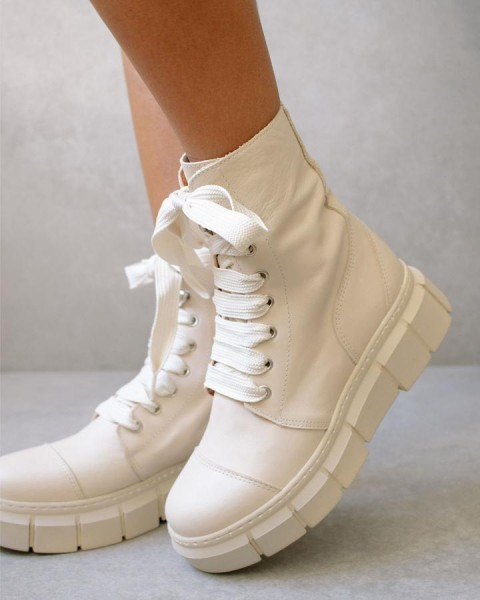 ALOHAS Boots CAN CAN BEIGE