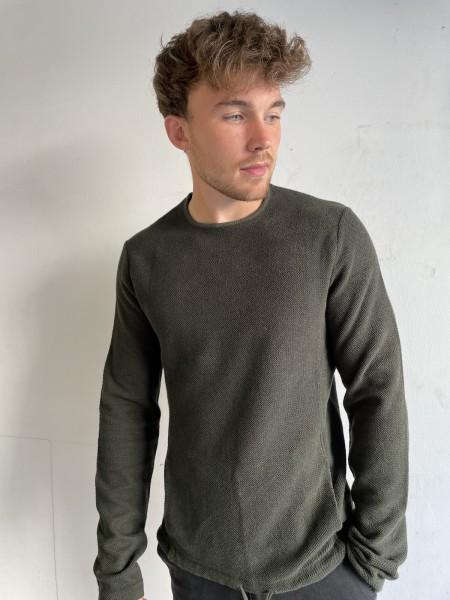 HANNES ROETHER leichter Pullover aus Baumwolle