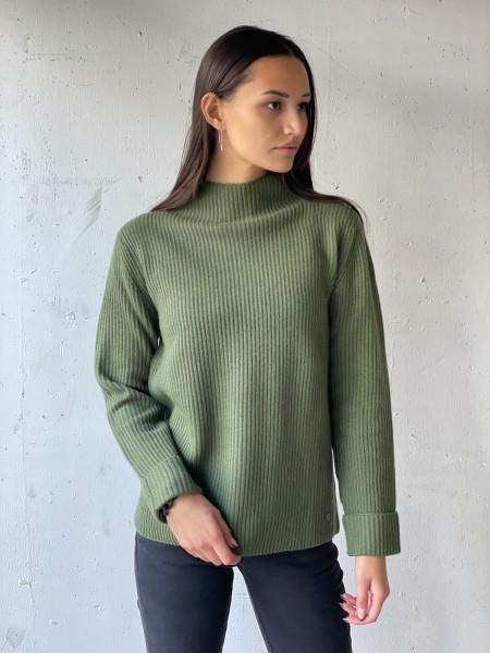 ZAUBERMOND Pullover mit Turtle-Neck