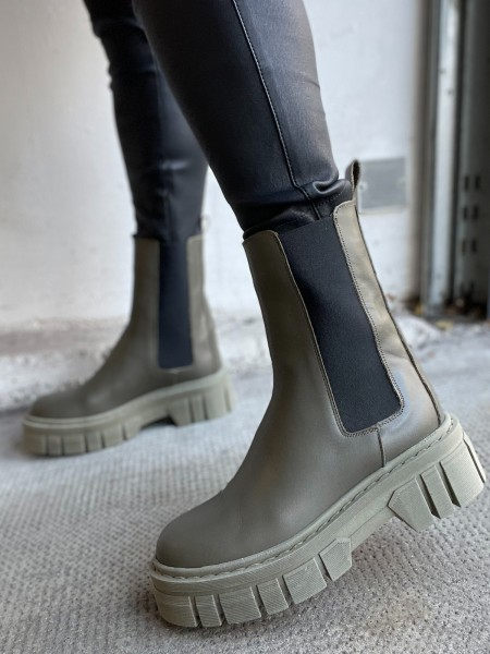 OVYE by CRISTINA LUCCHI Chelsea-Boots COMBAT