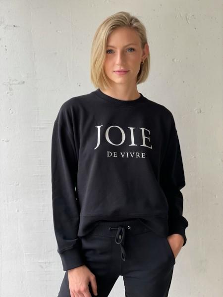 JUVIA Sweatshirt 'JOIE LA VIVRE'