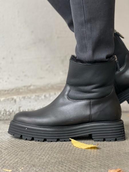 KENNEL & SCHMENGER Lammfell-Boots POWER