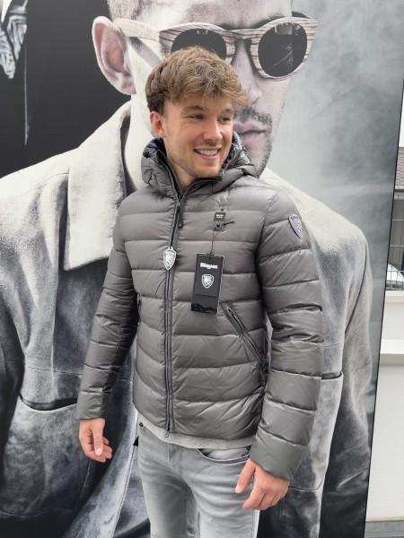 BLAUER USA Daunen-Jacke mit Kapuze